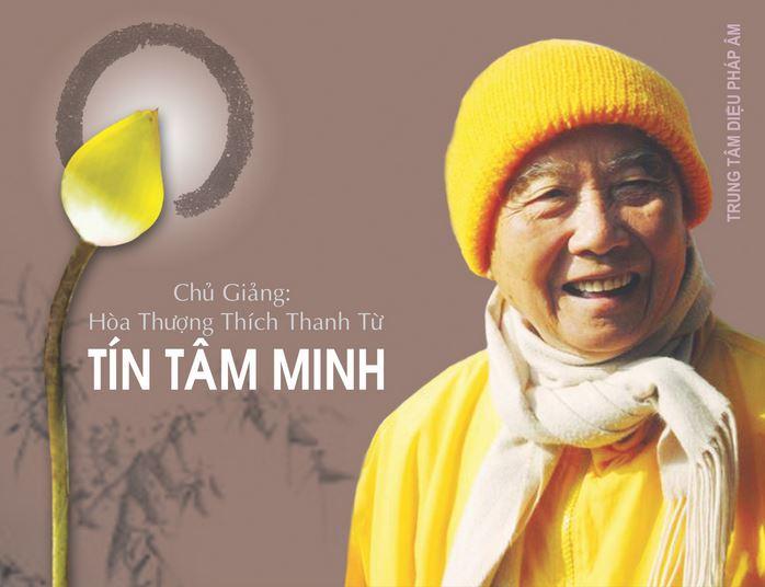 TÍN TÂM MINH GIẢNG GIÀI